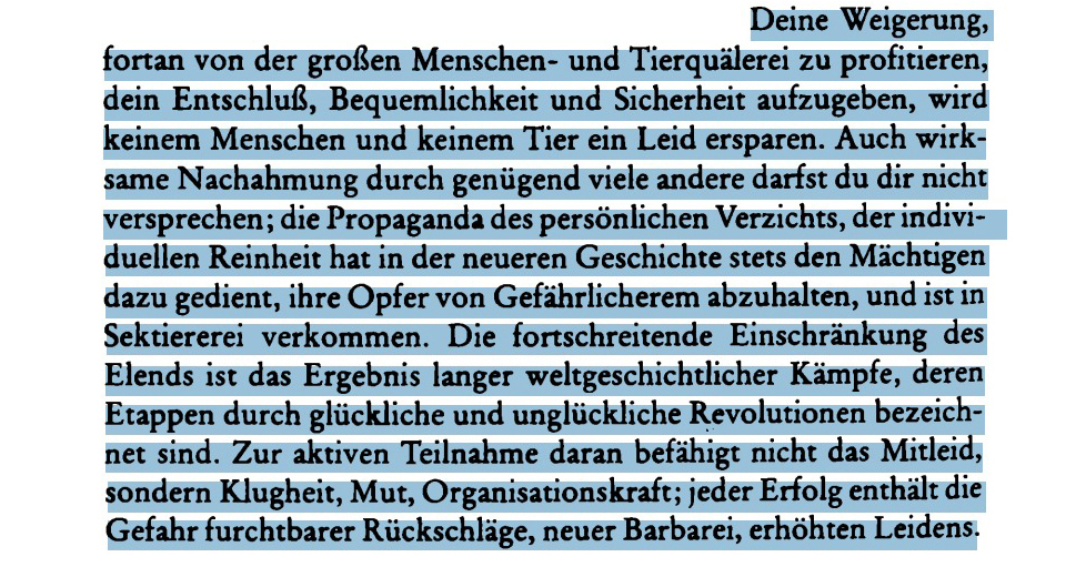 Max Horkheimer: Ohnmacht des Verzichts