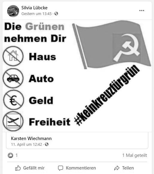 Die-Basis-Aurich-Silvia-Luebcke-Antikommunismus-Gruene